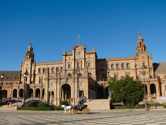 Spagna - Sevilla - Plaza de España