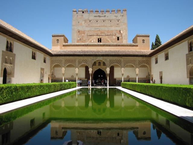 Spagna - Granada - Alhambra - Palacio Nazaríes - Patio de los Arrayanse