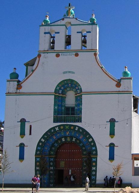 Messico - San Juan Chamula - Chiesa