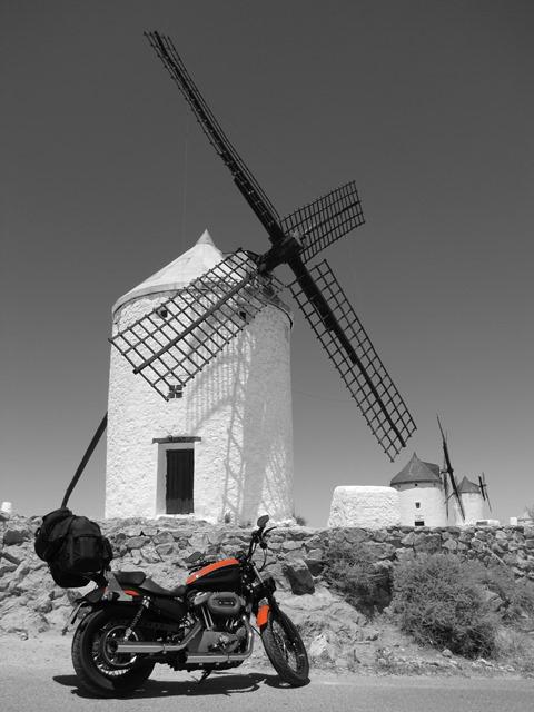 Spagna - Consuegra - Molinos de vientos