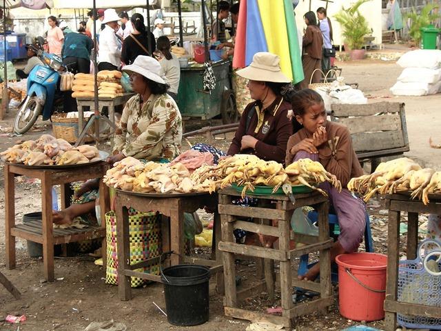 Cambogia - Kompong Thum - Mercato