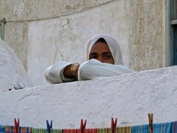 Egitto - El Quseir - Giovane egiziana