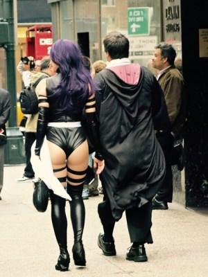 U.S.A. - New York City - Halloween costume