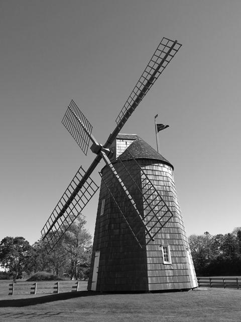 U.S.A. - New York - Gardiner Windmill
