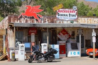 Viaggio in moto negli USA - Arizona - Hackberry General Store