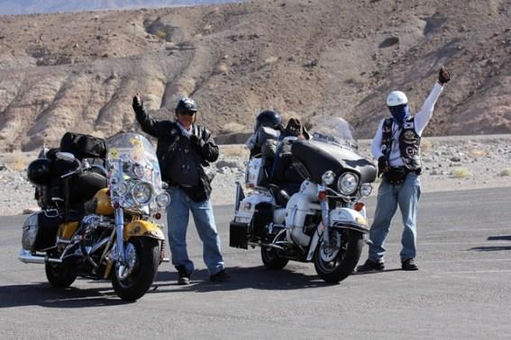 Viaggio in moto negli USA - California - Death Valley National Park - Korean Raiders