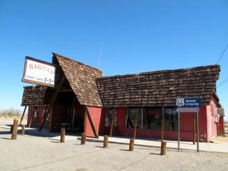 Viaggio in moto negli USA - California - Newberry Springs - The Bagdad Café