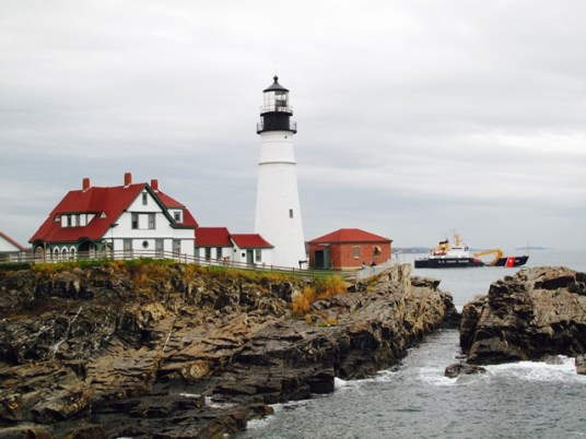 U.S.A. - New England - Maine - Portland - Head Lighthouse