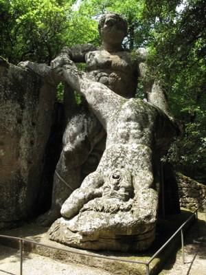 Bomarzo - Parco dei Mostri - Ercole Caco