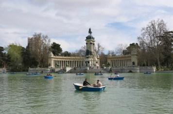 Spagna - Madrid - Parque del Retiro