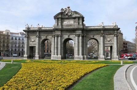 Spagna - Madrid - Puerta de Alcala