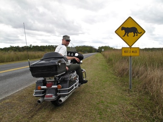 U.S.A. - Everglades National Park - Segnali stradali