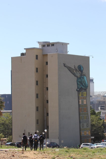 Sudafrica - Cape Town - Woodstock Graffiti
