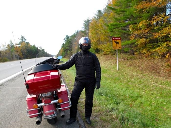 U.S.A. - Maine - Waterville - Segnali stradali