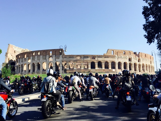 The 2016 Distinguished Gentleman's Ride – Roma