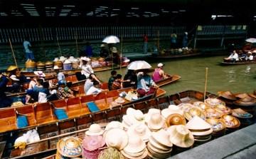 Thailand - Ratchaburi - Damnoen Saduak - Mercato galleggiante