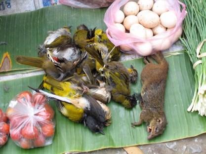 Laos - Luang Prabang - Mercato