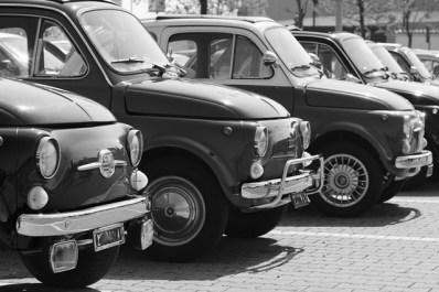 La Dolce Vita. Francesca Chillemi e le Fiat 500