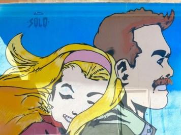 Arte Urbana (Street Art) - Pigneto: Solo