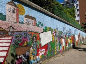 Arte Urbana (Street Art) - Pigneto: Andrea Cardia - La storia del quartiere