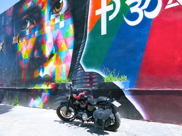Arte Urbana (Street Art) - Tor Sapienza: Eduardo Kobra - Ritratto di Malala Yousafzai