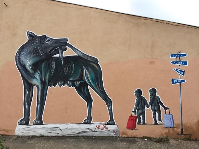Arte Urbana (Street Art) - Quadraro: Maupal, Mauro Pallotta