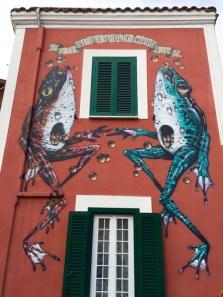 Arte Urbana (Street Art) - Quadraro: Veks Van Hilik - Senza Titolo