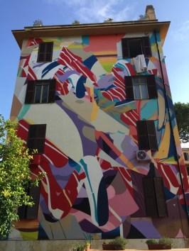 Arte Urbana (Street Art) - Tor Marancia: Satone - Cascata di parole