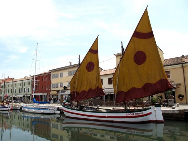 Porto Canale Leonardesco a Cesenatico Ziznàtic