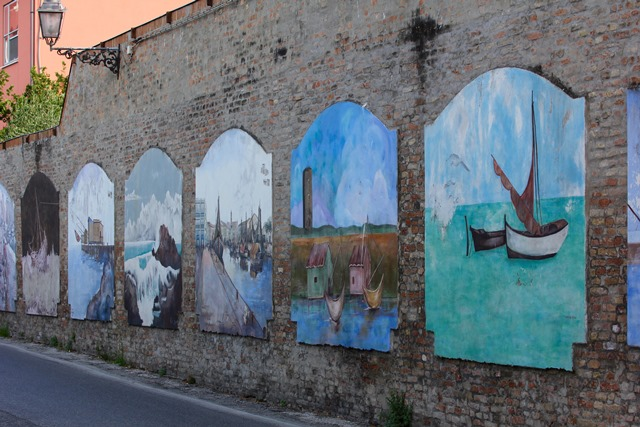Murales a Cesenatico
