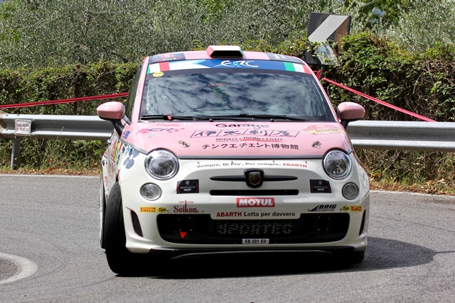 Rally di Roma Capitale - Fiat 500 Abarth