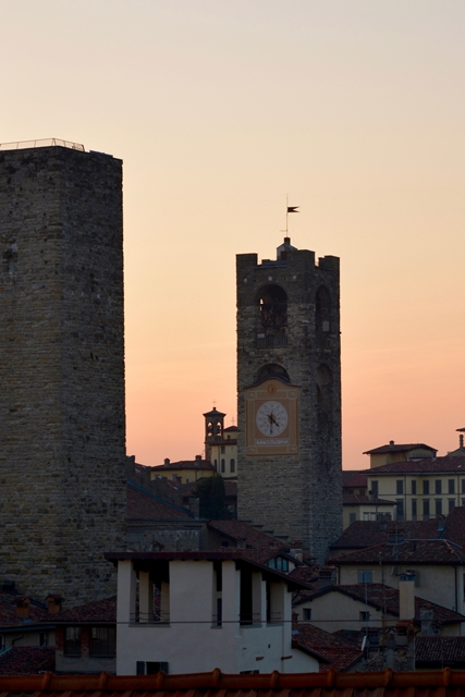 Bergamo Città Alta Campanone Torre Civica