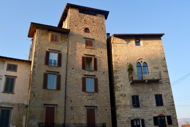 Bergamo Città Alta Case torri