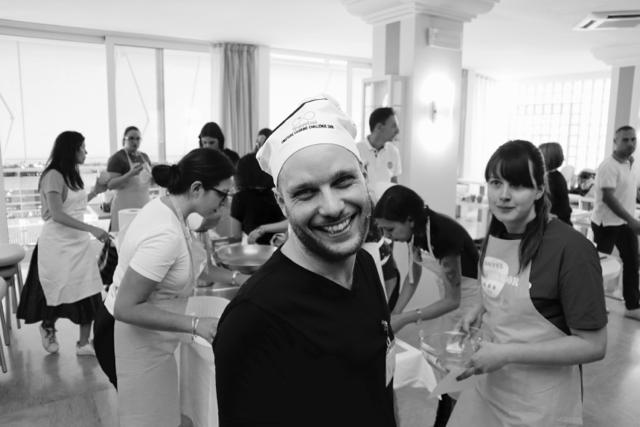 Alla Cooking Challenge del Blog Meeting 2018 di Travel365 presso l'Hotel San Salvador a Bellaria Igea Marina
