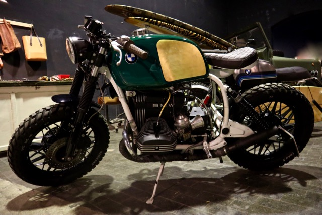 Eternal City Custom Show Motorcycles 2018 Roma cafè racer
