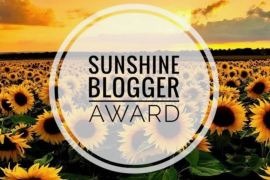 Sunshine blogger Award 2018