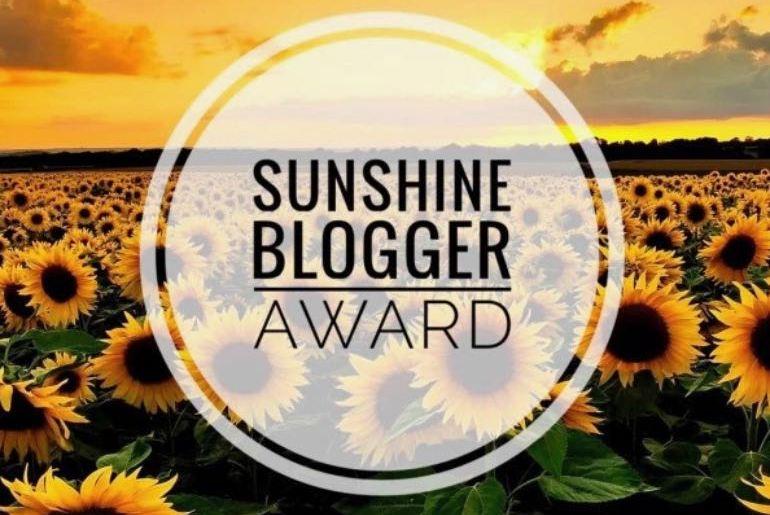 Sunshine blogger Award 2018