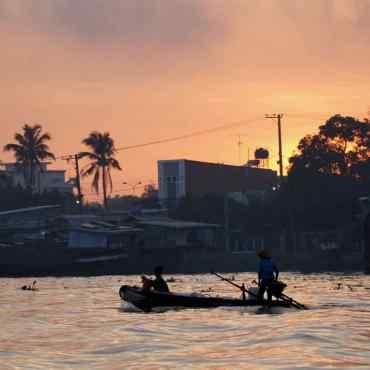 Delta del Mekong. I mercati galleggianti del Vietnam