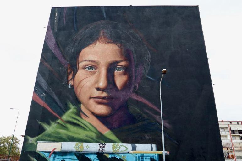 Jorit Agoch Napoli street art
