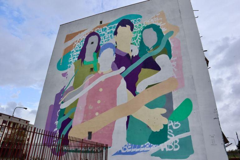 Luca ZEUS40 Caputo Napoli e la street art Napoli tour murales