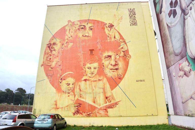 Mattia Campo Dall'Orto Napoli street art Napoli tour murales