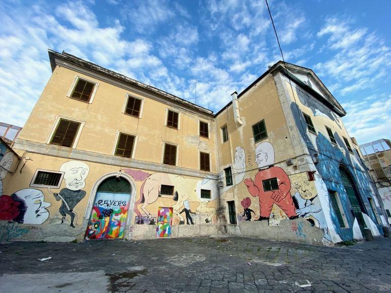 Street art Napoli tour murales