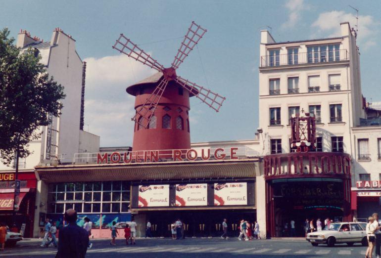 Moulin Rouge il mio primo viaggio