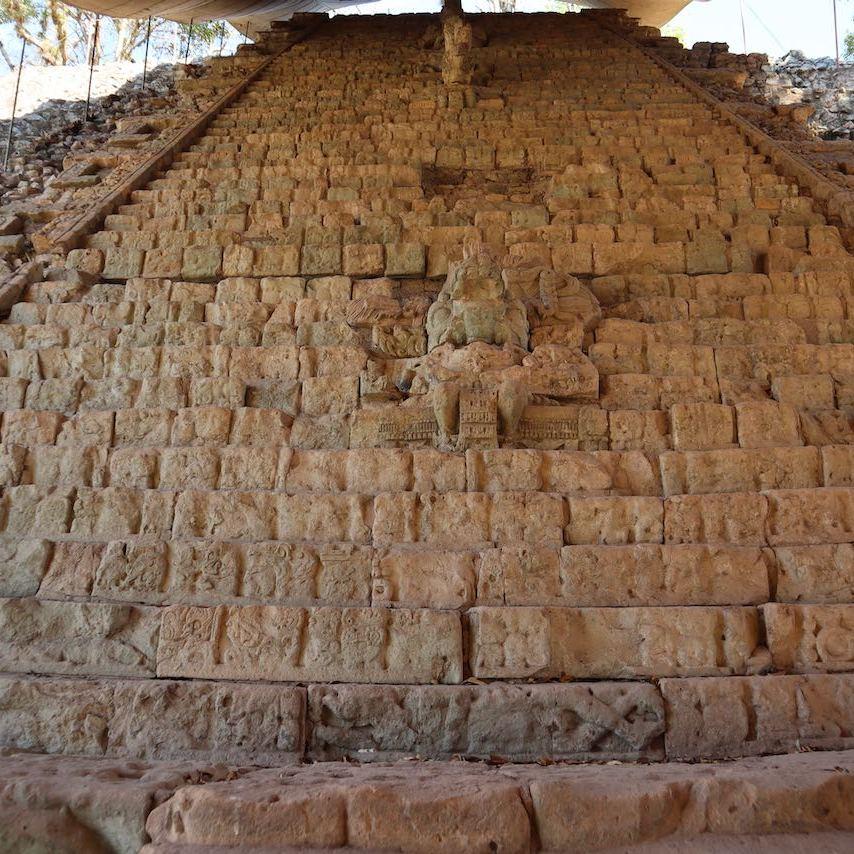 Escalinata de los Jeroglificos Honduras