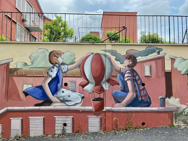 Casal Bernocchi street art