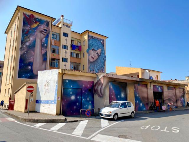 street art Diamante Calabria