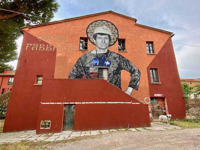 Street art Follonica Tuscany