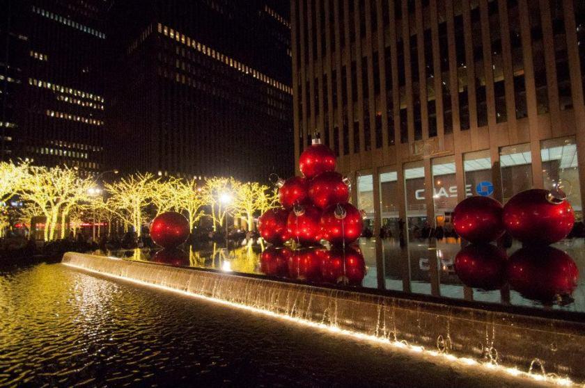 Capodanno a New York decorazioni