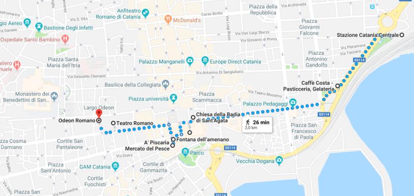 itinerario catania 1 giorno