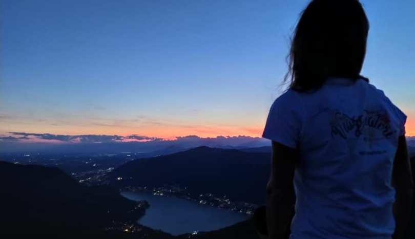 Sul Monte Palanzone dalla colma di Sormano